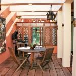 E: petit salon extérieur