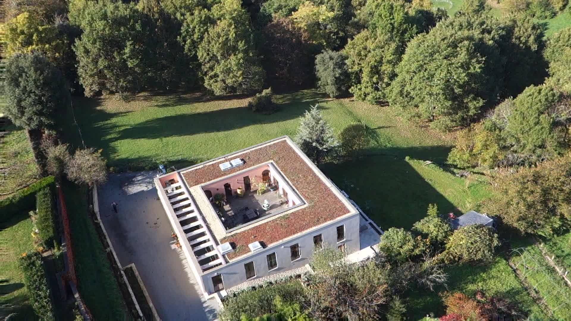 La Villa vue du ciel